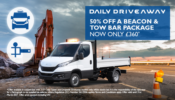 Daily Driveaway Beacon & Tow Bar