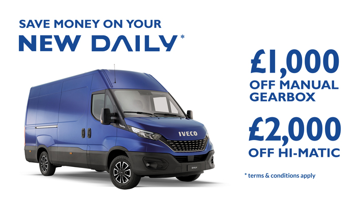 IVECO Daily Double Deal