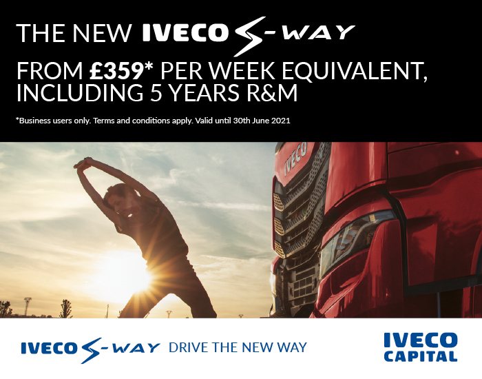 IVECO S-WAY Operating Lease from £359 per week