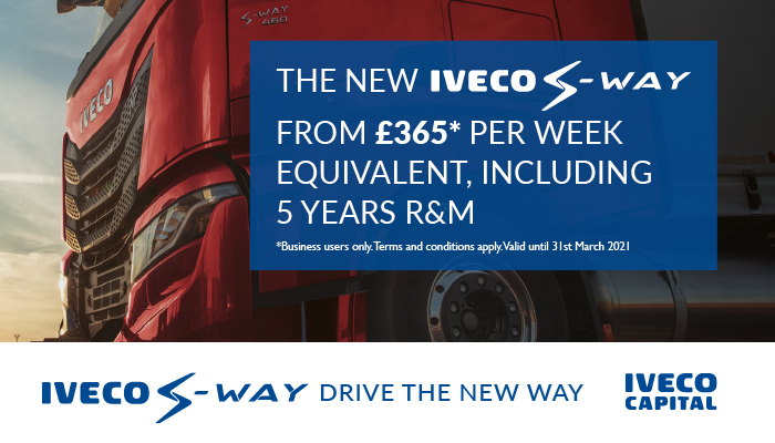 IVECO S-WAY Operating Lease from £365 per week