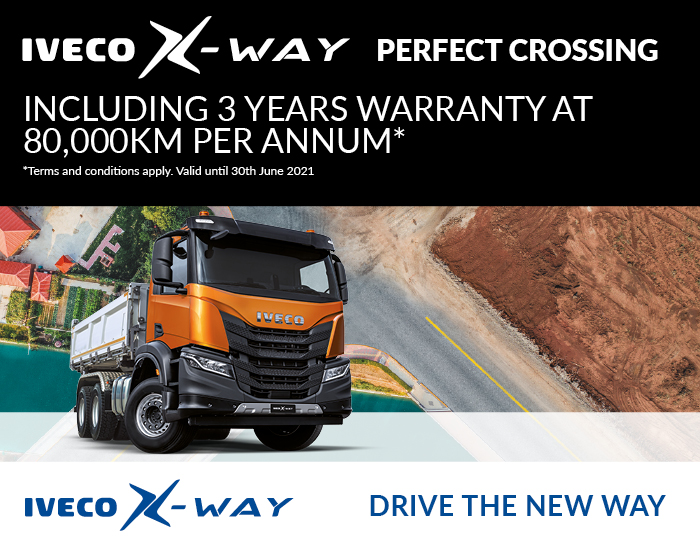 IVECO X-WAY 3 Year Warranty