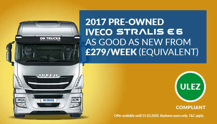 PRE-OWNED 2017 IVECO Stralis HI-WAY EURO 6