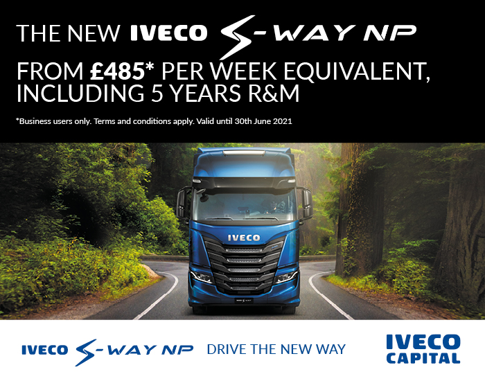 NEW IVECO S-WAY NP Operating Lease