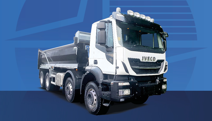 UNREGISTERED 8x4 Steel Tipper in Stock