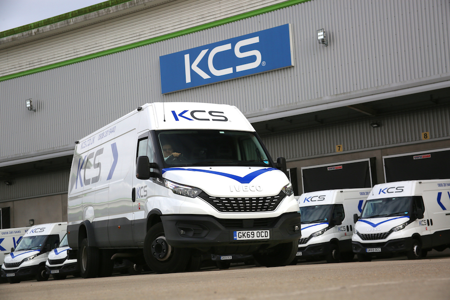 KCS renew 13 IVECO Daily 7-Tonne vans for heavy duty PPE and educational supplies delivery