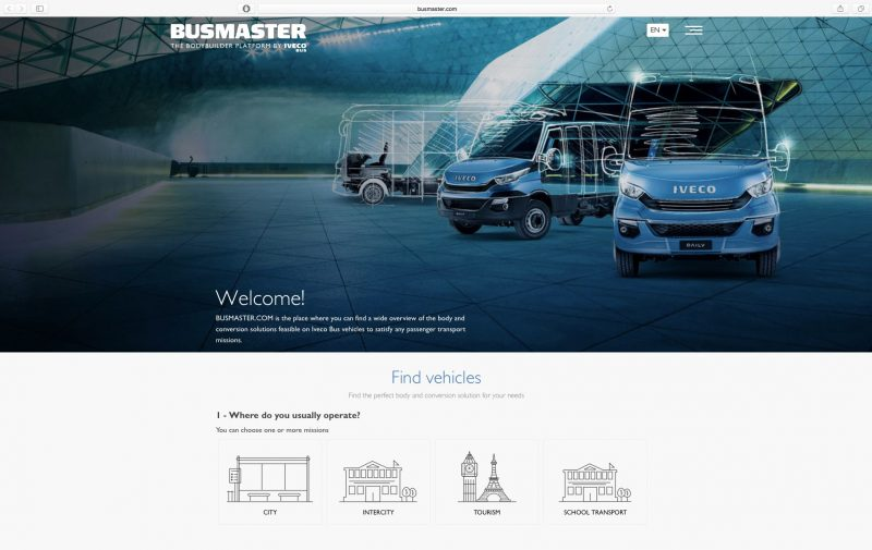 David Fishwick >> IVECO BUS launches new BUSMASTER website | IVECO