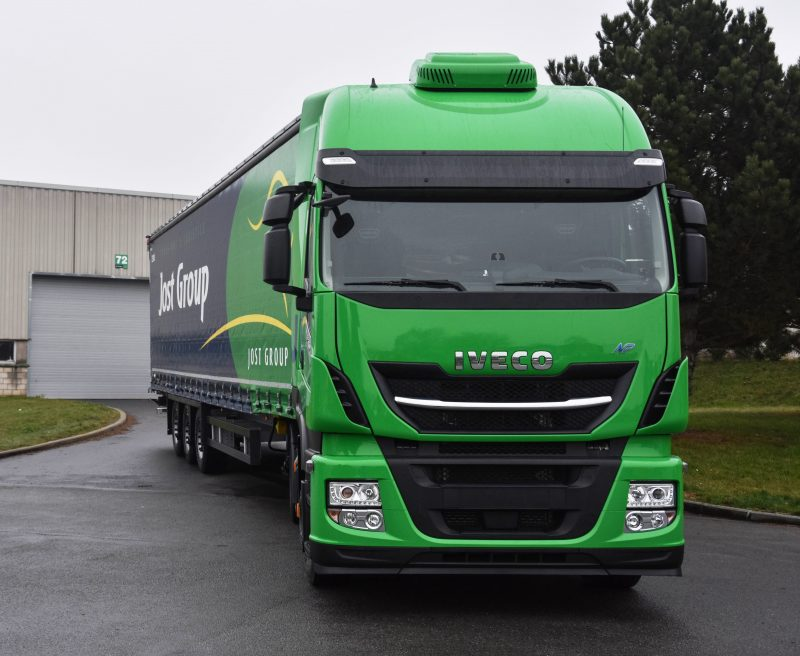 IVECO delivers 30 Stralis NP trucks to Jost Group, whic | IVECO