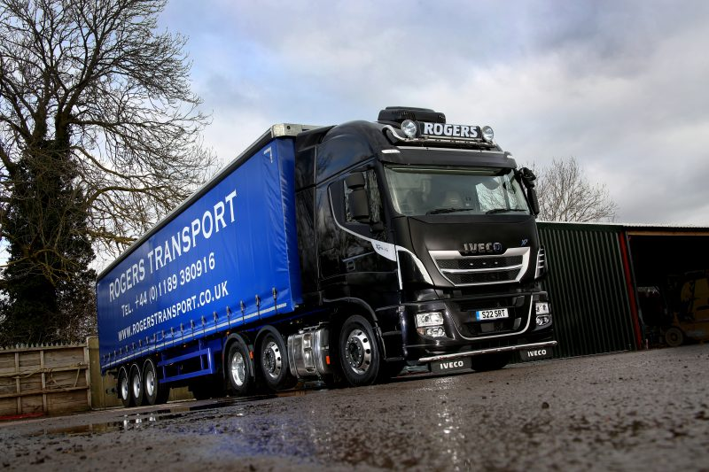 Fuel saving potential secures Stralis XP order from Rogers Transport