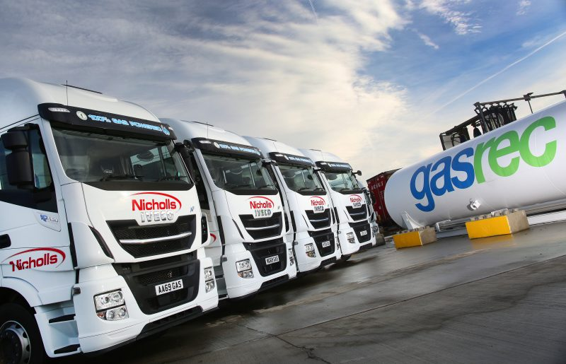 Nicholls Transport boosts sustainability with new LNG-fuelled IVECO fleet