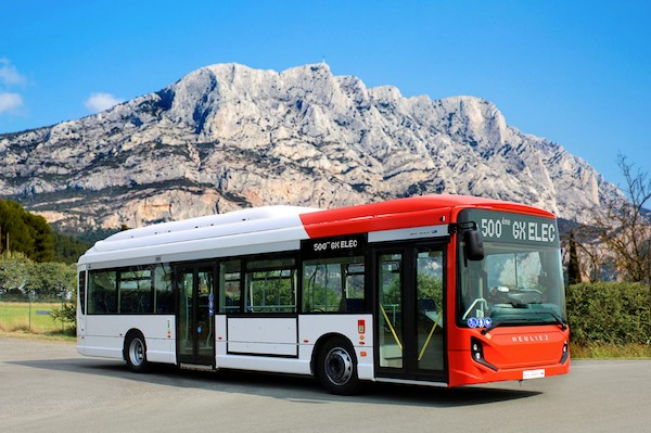 IVECO BUS reaches a first production milestone with the delivery of the 500th E-WAY to the Aix-Marseille-Provence Metropolitan Authority