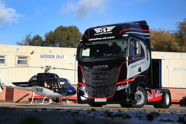 Just-in-time delivery specialists, Alcaline, look for maximum vehicle uptime with new IVECO S-WAY