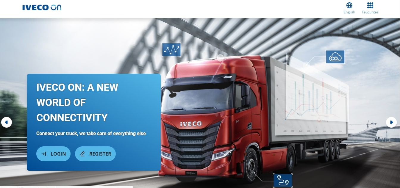 IVECO raises the level of the customers' digital experience with new  IVECO ON portal and Easy Way app