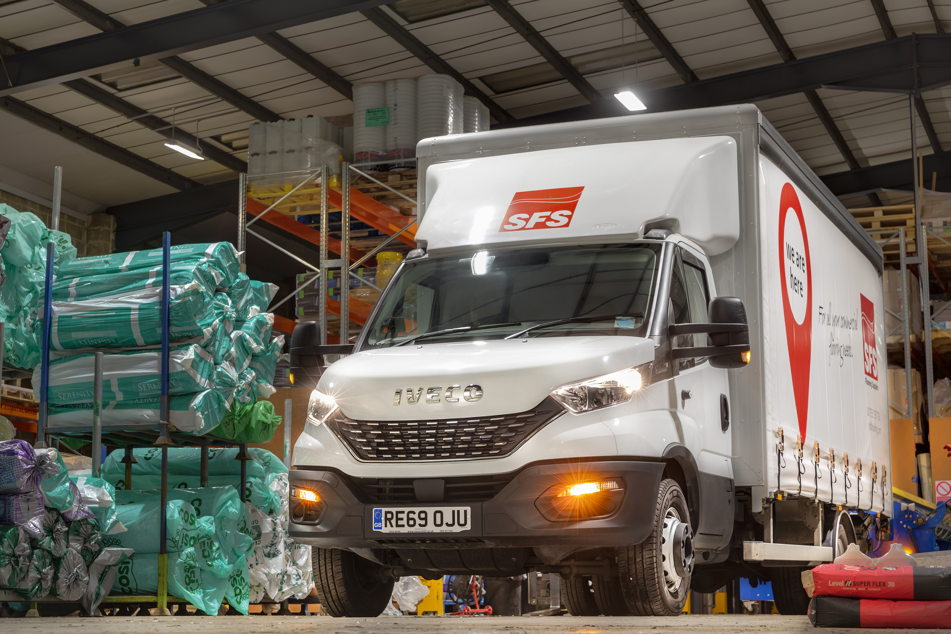 IVECO's New Daily Hi-Matic is a perfect fit for SFS Flooring Supplies