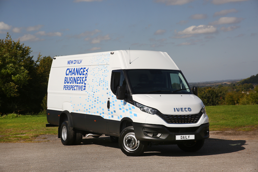 IVECO Daily takes Light Truck of the Year in 2021 Van Fleet World Great British Fleet Awards