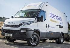 BT Fleet invests in 145 New Daily 7.0 tonne vans