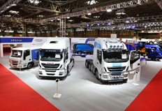Commercial Vehicle Show success for Iveco