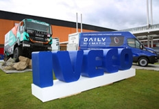 CV Show highlights: Iveco brings largest ever line-up to the NEC