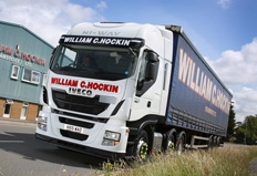 Devonshire haulier takes delivery of first Iveco Stralis tractor units