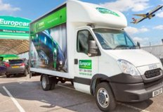 From UFO's to bathroom - Europcar's new Daily's can handle any move