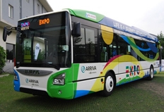 Iveco and Iveco Bus vehicles working at Expo 2015