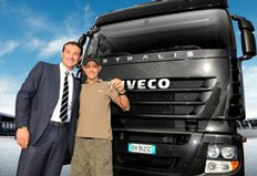 Iveco and Valentino Rossi continue to travel together