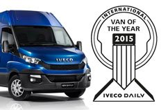 Iveco Daily wins International Van of the Year Award 2015