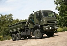 Iveco Defence Vehicles completes delivery of over 200 heavy trucks to the UK MoD