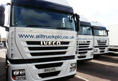 Iveco delivers fleet of high horsepower tractor units to Alltruck plc