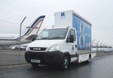 Mobile Media Gets its Messages Seen with Iveco