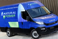 New Daily Natural Power launch key to sustainable mobility, says Iveco