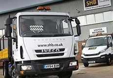 SHB Hire expands its fleet with New Daily and Eurocargo order