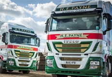 Stralis demonstrator secures conquest order from HE Payne
