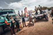 Team PETRONAS De Rooy IVECO wins Africa Eco Race 2018 truck category