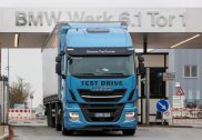 BMW Group chooses Stralis NP to test LNG technology for its logistics operations