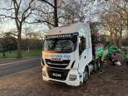 100 per cent gas-powered IVECO Stralis NP plays major role in London New Year's Day Parade
