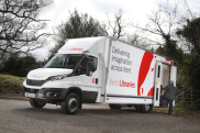 Kent County Council takes delivery of five new IVECO Daily 7.2 tonne mobile libraries to modernise its fleet