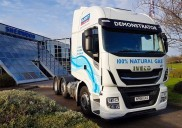 Guest Truck and Van becomes the first UK dealer to operate IVECO's 6x2 LNG natural gas demonstrator