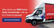 Iveco Daily 7 Tonne Curtainside available to test drive