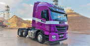 Another IVECO Stralis Delivering The Goods At Arclid Transport