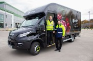 First Of Its Kind Food Distribution Truck Delivered To Brakes Foodservice