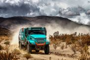 Dakar 2017: IVECO once again on the podium of the world's toughest rally