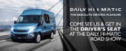 Take to the road with IVECO's Daily Hi-Matic Roadshow