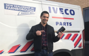 Ionut Oprea aka Johnny, The IVECO Parts Champion of UK and Ireland Market | IVECO RETAIL HEATHROW