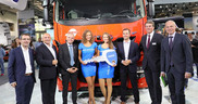 Iveco delivers Germany's first Liquid Natural Gas-powered long-haul truck at IAA 2016