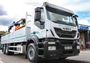 Builders' merchant Logmoor reaps the benefits of brand new IVECO Stralis