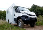 All-terrain 4x4 IVECO Dailys help charity reach remote African villages