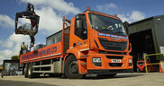 Iveco Stralis Hi-Street fleet delivers for North West Roofing Supplies