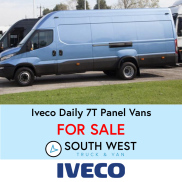 Iveco Daily 7T Panel Vans are for Sale