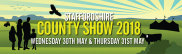 Staffordshire County Show 30th and 31st May
