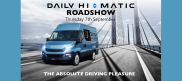 Join us for the Iveco Daily Hi-Matic Roadshow